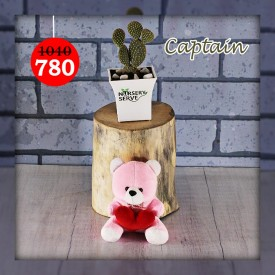 Captain Set - Express Your Love With Amazing Green Gift Set
