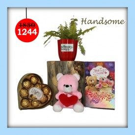 Handsome Set - Express Your Love With Amazing Green Gift Set