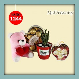 McDreamy Set - Express Your Love With Amazing Green Gift Set
