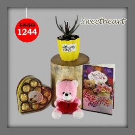 Sweetheart Set - Express Your Love With Amazing Green Gift Set