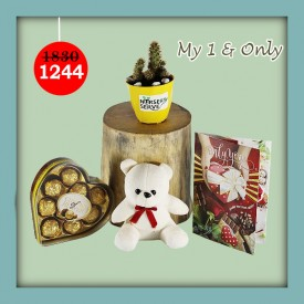 My 1 & Only Set - Express Your Love With Amazing Green Gift Set