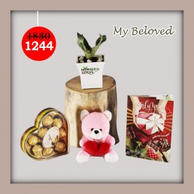 My Beloved Set - Express Your Love With Amazing Green Gift Set