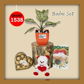 Babe Set - Express Your Love With Amazing Green Gift Set
