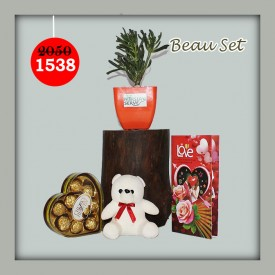 Beau Set - Express Your Love With Amazing Green Gift Set