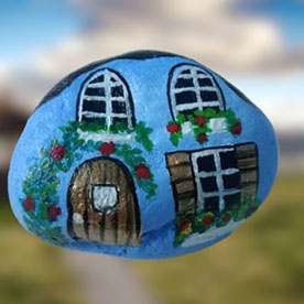 Home, Pebble Art Handcrafted Garden and Room Décor for Home by NationBloom